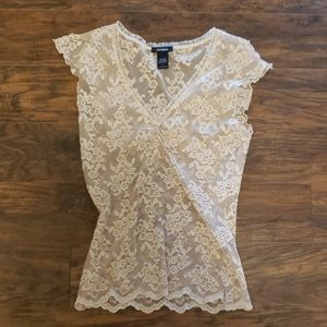 Cute top from Express, size large